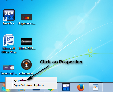 How To Change Start Menu Icons Size in Window 7