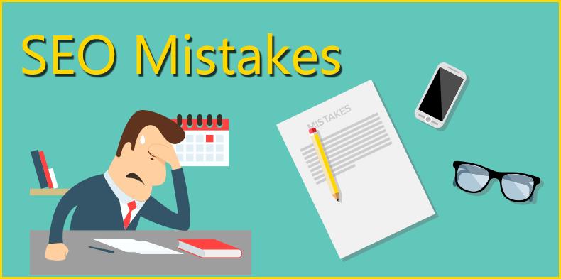 8 greșeli SEO pe care trebuie să le evitați