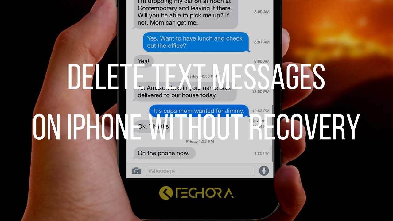 delete text messages iphone how to completely delete text messages on iphone without 2120